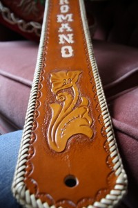 Custom Guitar Strap - Daniel Romano